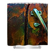 Handle Shower Curtain