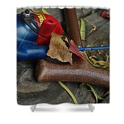 Handled With Care Shower Curtain