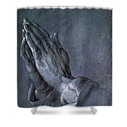 Hands Of An Apostle 1508 Shower Curtain by Philip Ralley