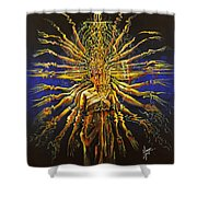 Hands Of Compassion Shower Curtain