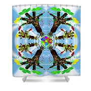 Hands Of Nature Shower Curtain