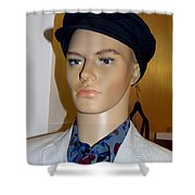 Handsome Henry Shower Curtain