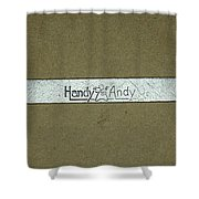 Handy Andy Wrench Shower Curtain