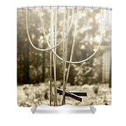 Hang It Up Shower Curtain