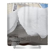 Hang Over Shower Curtain
