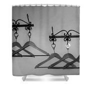 Hangers Shower Curtain by Dany Lison
