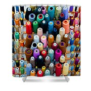Hanging By Many Threads Shower Curtain