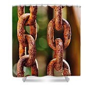 Hanging Chain Shower Curtain