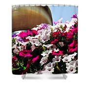 Hanging Flowers 6720 Shower Curtain