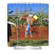 Hanging For Halloween By Diana Sainz Shower Curtain