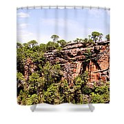 Hanging Forest Shower Curtain
