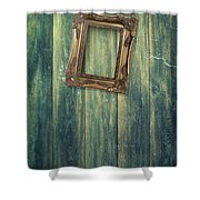 Hanging Frame Shower Curtain