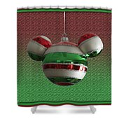 Hanging Mickey Ears 02 Shower Curtain
