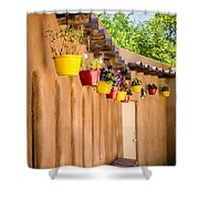 Hanging Pots Shower Curtain