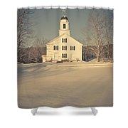 Hanover Center Church Etna New Hampshire Shower Curtain