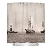 Hanse Sail Shower Curtain