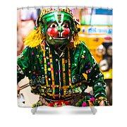 Hanuman At Chitirai Shower Curtain