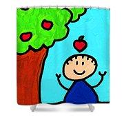 Happi Arti 6 - Sir Isaac Newton Art  Shower Curtain