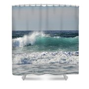Happily At Sea Shower Curtain