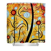 Happiness By Madart Shower Curtain