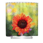 Happy Colorsii Shower Curtain