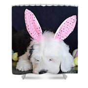 Happy Easter Shower Curtain