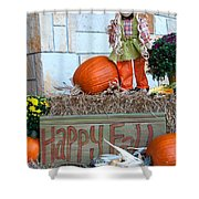 Happy Fall Shower Curtain