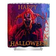 Happy Halloween Jack Shower Curtain
