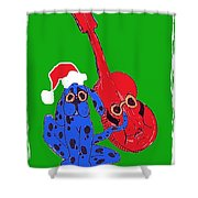 Happy Hunka Holiday Shower Curtain