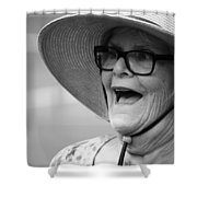 Happy Lady Shower Curtain