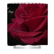 Happy Mother's Day Shower Curtain by Garvin Hunter
