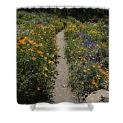 Happy Trails Shower Curtain