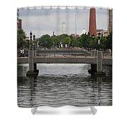 Harbor Bridge - Baltimore Harbor Shower Curtain
