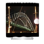 Harbor Bridge Shower Curtain