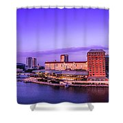Harbor Island Shower Curtain by Marvin Spates
