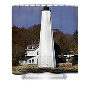 Harbor Light Shower Curtain