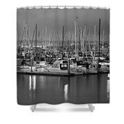 Harbor Lights II Shower Curtain