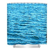 Harbor Markers Shower Curtain