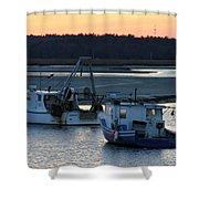 Harbor Nights Shower Curtain