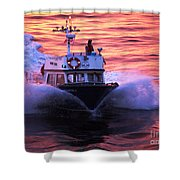 Harbor Pilot Shower Curtain