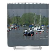 Harbor Rest Shower Curtain