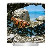 Harbor View 4 Shower Curtain