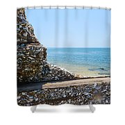 Harbor View Unseen Shower Curtain