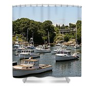 Harbor Views Shower Curtain