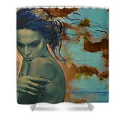 Harboring Dreams Shower Curtain by Dorina  Costras