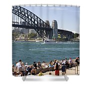 Harbour Bridge Shower Curtain