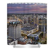 Harbour Center Lookout Vancouver Bc Shower Curtain