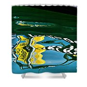 Harbour Master Abstract Shower Curtain