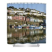 Harbour Mirrored Shower Curtain