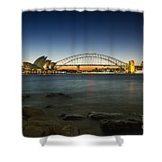 Harbour Night Shower Curtain